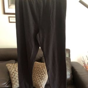 Style and Co Black Large Stretch Pants w/ Stirrups